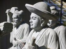 Detalj av den kinesiska templet Kuala Lumpur Arkivbild