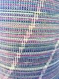 Detalj av den kulöra textilen Royaltyfri Fotografi