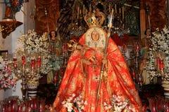 Detalj av den kyrkliga inre i Gran Canaria royaltyfria bilder