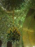 Detalj av den magiska moskén, Iran Royaltyfria Foton