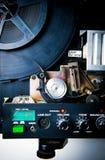 Detalj av den 8mm projektorn Royaltyfri Bild