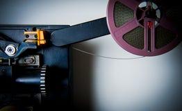 Detalj av den 8mm projektorn Royaltyfria Foton