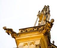 Detalj av den Prague slotten Royaltyfria Bilder