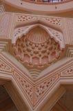 Detalj av den Putra moskén Arkivbilder