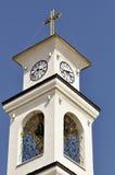 Detalj av den tempelhelgonVlasiy kyrkan i Bulgarien Royaltyfria Bilder
