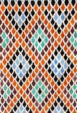 Detalj av den traditionella moroccan mosaikväggen, Marocko Royaltyfria Foton