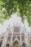 Detalj av den Westminster abbotskloster i London stadsmitt Royaltyfri Bild