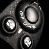 Detalj av den yrkesmässiga digitala fotokameran Royaltyfri Fotografi