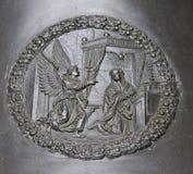 Detalj av den Zikmund klockan Royaltyfri Bild