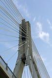 Detalj av denblivna bron - helig arg bro, Warszawa Arkivfoton