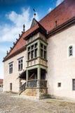 Detalj av det gamla stadshuset i Bardejov Royaltyfri Bild