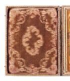 Detalj av det historiska Daguerreotypefallet Arkivbild