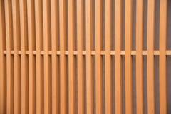 Detalj av det wood japanska huset i Gion Royaltyfri Fotografi