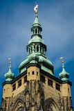 Detalj av domkyrkan av helgon Vitus Arkivfoto