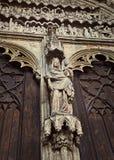 Detalj av domkyrkan av St. Maria, Augsburg Royaltyfria Bilder