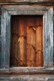 Detalj av dörren av ett typisk ukrainskt antikt hus Royaltyfria Foton