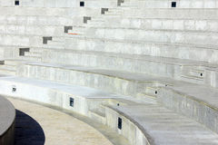 Detalj av en Amphitheater på Lisbon, Portugal Arkivfoto