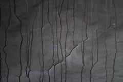 Detalj av en bränd ned vägg Arkivfoto