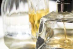 Detalj av en flaska av doft Royaltyfri Foto