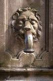 Detalj av en forntida bypump Royaltyfri Fotografi