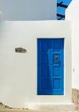 Detalj av en gata på den Panarea ön, Italien Arkivbilder