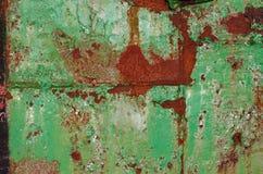 detalj av en metallvägg Royaltyfri Foto