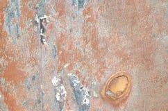 detalj av en metallvägg Royaltyfria Bilder
