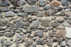 Detalj av en slottvägg, Beja, Portugal arkivbilder