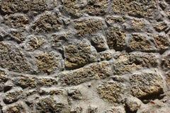 Detalj av en stenvägg royaltyfri fotografi