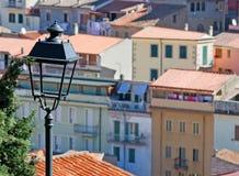 Detalj av en streetlamp Royaltyfri Foto