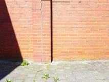 Detalj av en vägg Royaltyfria Foton