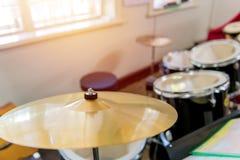 Detalj av en valssats för att spela musik Royaltyfri Fotografi