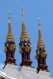 Detalj av ett tempeltak Royaltyfri Fotografi