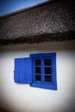 Detalj av ett typisk fönster (3). Fotografering för Bildbyråer