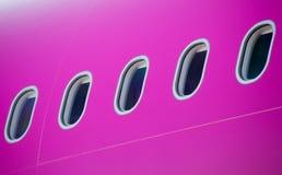 Detalj av flygplan Fotografering för Bildbyråer