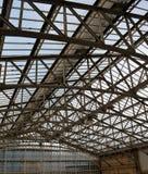 Detalj av folkhoptaket på järnvägsstationen, Aberdeen, Skottland Royaltyfri Foto