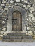 Detalj av fortet i Arrecife Arkivfoto