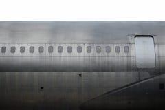 Detalj av gammalt flygplan royaltyfria foton