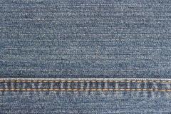Detalj av grov bomullstvilltextur Arkivbild