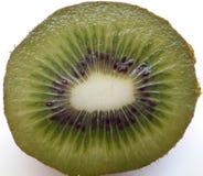 Detalj av inre av en kiwi royaltyfri bild