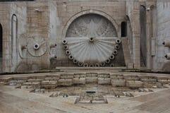 Detalj av kaskaderna i Yerevan, Armenien Arkivfoton