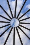 Detalj av kupolstrukturen Fotografering för Bildbyråer