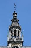 Detalj av Maison du Roi på Grand Place i Bryssel arkivfoto