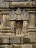 Detalj av Makara av Candi Siwa Shiva Temple i Prambanan tempelkomplex den 9th sammansättningen för den hinduiska templet för århu Royaltyfri Foto