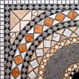 Detalj av marmormosaikbakgrund arkivfoto