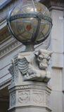 Detalj av Montreal den frimurar- minnes- templet Royaltyfria Foton