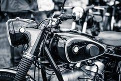 Detalj av motorcykeln BMW R51/3 arkivfoto