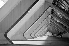 Detalj av museet i Valencia Royaltyfria Foton