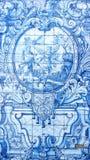 Detalj av några azulejos arkivfoton