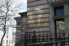 Detalj av National Portrait Gallery Arkivbild